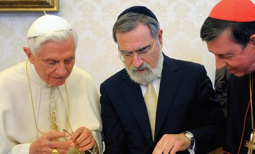 Rabbi Jonathan Sacks and Pope