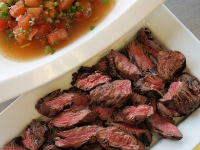 skirt steak diablo (Gayle Squires)