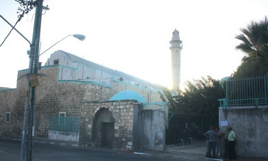 The Omari mosque in Ramle.
