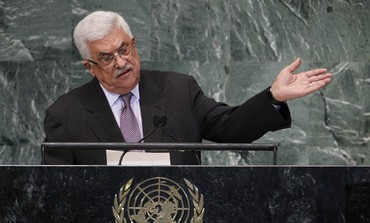 PA President Mahmoud Abbas at the UN