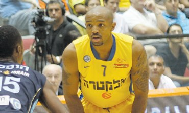 MACCABI TEL AVIV guard David Logan