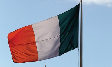 THE IRISH flag flies