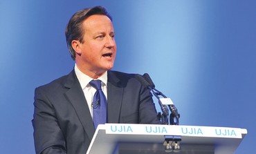 David Cameron at UJIA fundraiser