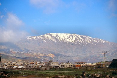 Mount Hermon (BiblePlaces.com)
