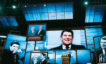 Ronald Reagan on screens