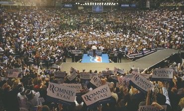 Romney speaks at 'final campaign rally'