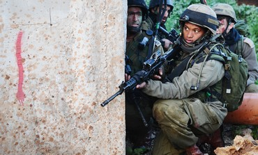 IDF soldiers in urban warfare exercise