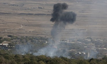 Syrian mortar shell explodes in Golan -  Photo: REUTERS/Baz Ratner
