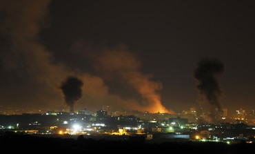 IAF strikes in Gaza - Photo: REUTERS/Darren Whiteside