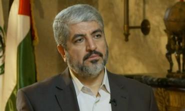Hamas leader Khaled Mashaal - Photo: Screenshot CNN