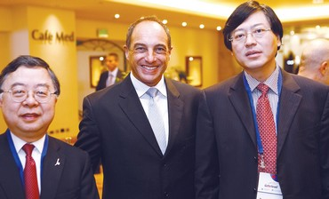 CEO of Lenovo, chairman of Hong Kong real estate.