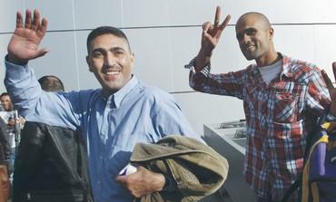 Fatah activists arrive in Gaza - Photo: REUTERS