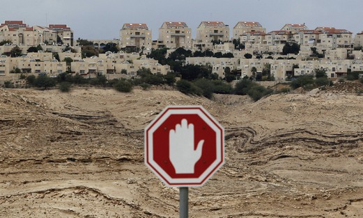 Controversial E1 corridor between Maaleh Adumim and Jerusalem Photo: Reuters