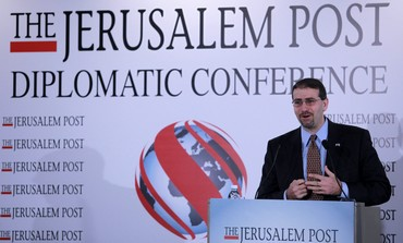 Dan Shapiro at 'The Jerusalem Post' conference