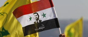 Flags of Hezbollah, Assad's Syria