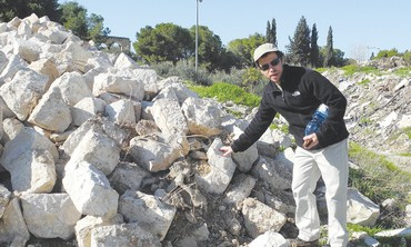 Debris removed from Temple Mount