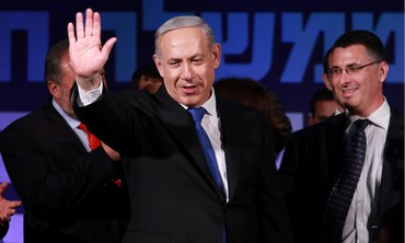 Prime Minister Binyamin Netanyahu delivers victory speech, January 22, 2013.