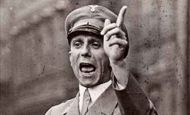 Goebbels delivers speech in Nazi Germany, 1934
