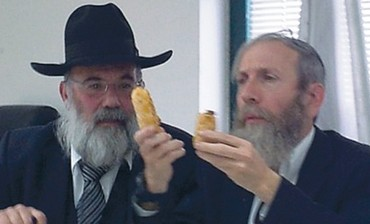 HAGGAI BAR-GIORA (left) and Yaakov Sebag
