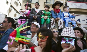 Tel Aviv on Purim, 2013.