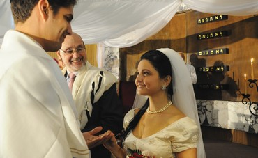 Jewish wedding in Havana