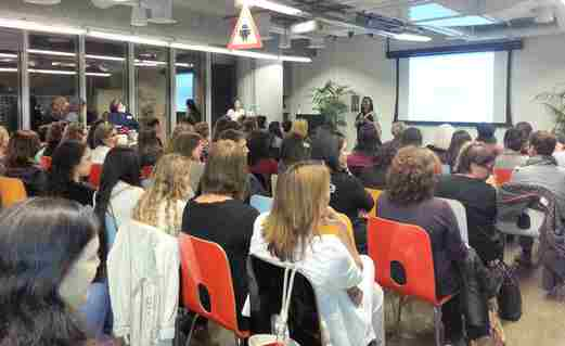 Yazamiyot at Google's Campus Tel Aviv celebrating women entrepeneurs
