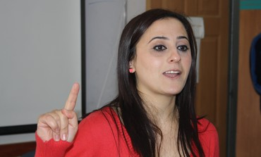 Ranin Deeb, manager of the Abraham Fund program for Arab women in Majd al-Kurum.