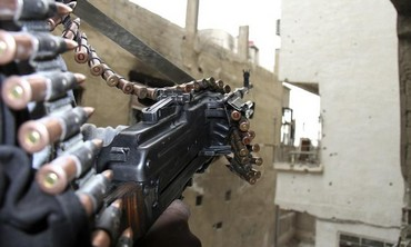 Syrian opposition fighter