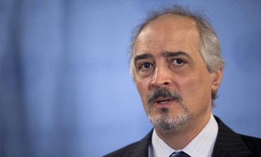 Syria's envoy to the UN Bashar Ja'afari.