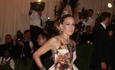 Sarah Jessica Parker at the Met Ball.
