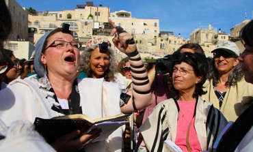 Israeli Women of the Wall, photo: Tovah Lazaroff