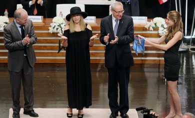 BARBRA STREISAND receives an honorary 