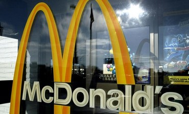 The McDonald's Golden Arches.