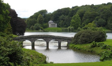 Stourhead, an example of the English Landscape Garden (Rod Allday - Wikicommons)