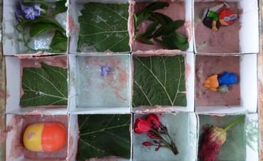 Treasure blocks in the making  (Avital Vartikovsky)