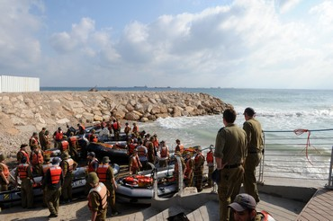 Dolphin-class submarine course (IDF Spokesman