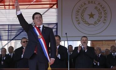 Paraguay's President Horacio Cartes.