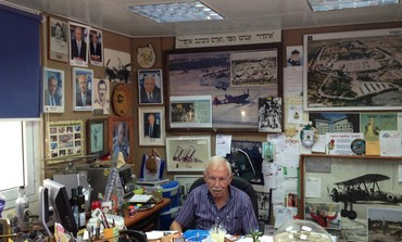 Ya'acov Terner, Brig.gen. (res), Museum Founder  (Janis Raisen)