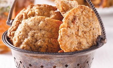 Oat and walnut cookies (Boaz Lavi)