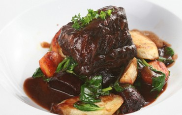 Maple and Date Glazed Short Ribs