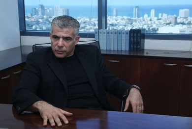 Finance Minister Yair Lapid (Marc Israel Sellem)