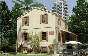 Rendering of preserved Templer house transformed into cafe  (VIEW POINT)