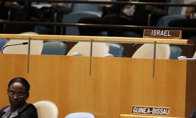 The Israeli delegation