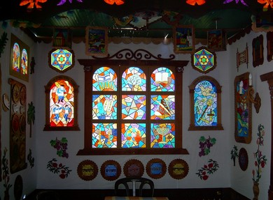 The Parush Succa in all its splendor. (Zeev Parush)