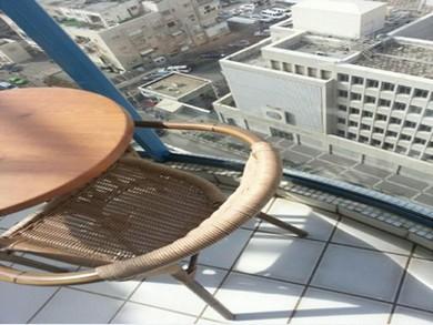 Photo of US Embassy in Tel Aviv taken by alleged Iranian spy (Courtesy Shin Bet)