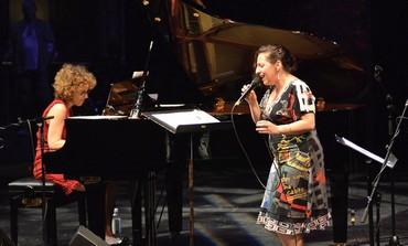 Israeli-born singer, Ayelet Gottlieb and pianist Anat Fort (courtesy)