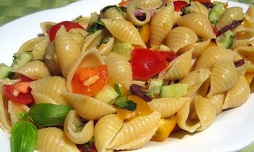 Roasted Garlic Pasta Salad (courtesy)