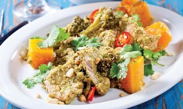 Chicken in a citrus curry (Boaz Lavi)