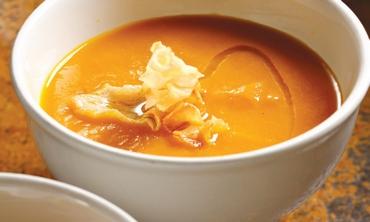 Fall squash and pumpkin soup (Dan Peretz)