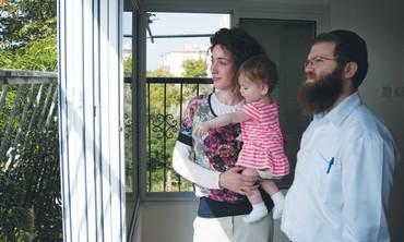 Haya and Avraham Hager of Kiryat Malachi Photo: Hadas Parush